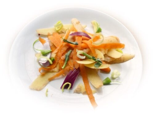 vegetable peelings